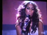 Leona Lewis - Bleeding love on American idol 4-23-2008