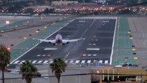 San Diego Lindbergh Field Evening Plane Spotting