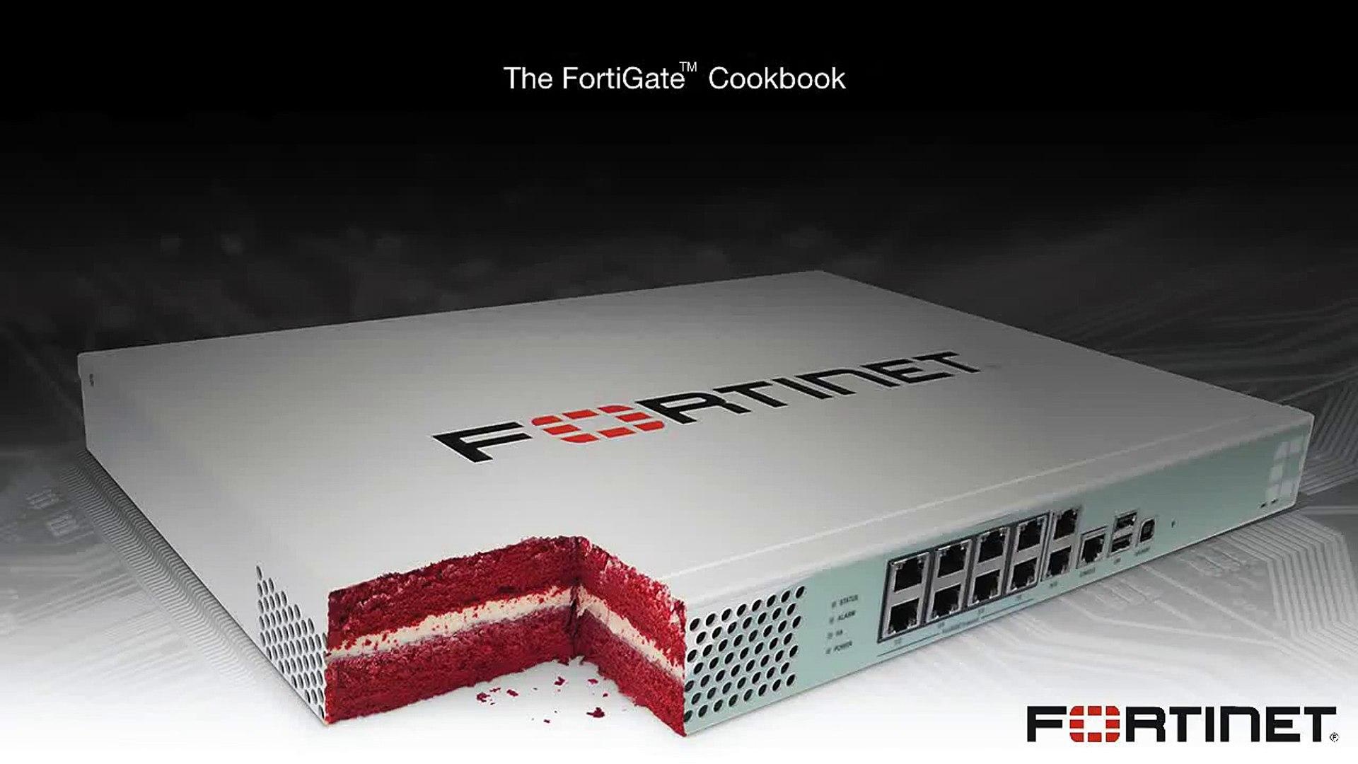 FortiGate Cookbook - Basic Firewall Configuration (5 0)