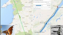 Google Maps reveals how quickly you can travel by Loch Ness Monster