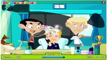 Mr Bean Cartoon Game Trouble in Hair Saloon - Kids Games 2015 ★ Hi5 Game to Play