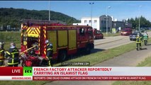 ISIS ISIL DAESH attack gruesome decapitation @ USA factory in France Breaking News July 2015