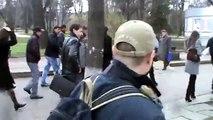 Curaj.TV - Protest la ambasada Ungariei: Nu discriminati romii!