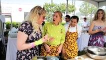Kirsten Vangsness and Chef Mary Sue Milliken support Alex's Lemonade Stand