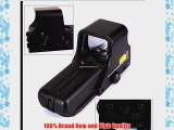 HawksTech Rifle Tactical Sight Red Green Dot Holographic rifle Scope Hunting TelescopeTactical