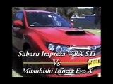 Subaru Impreza WRX STi Vs Mitsubishi Lancer Evo X - Carsguide.com.au