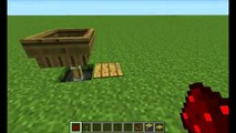 Minecraft 1.2.5 Redstone Tutorials-  Simplest, Smallest Redstone Clock