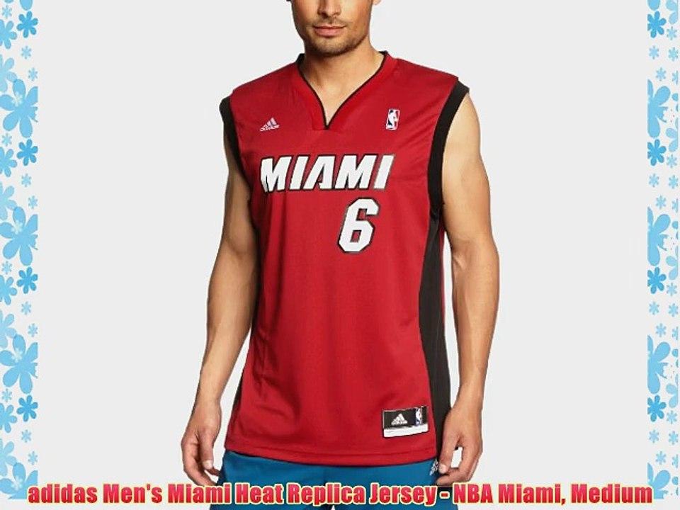 adidas Men's Miami Heat Replica Jersey - NBA Miami Medium - video ...