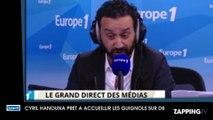 """Cyril Hanouna prêt à sauver Les Guignols de l'info sur D8 : """"Il faut retravailler Les Guignols pas les arrêter"""""""