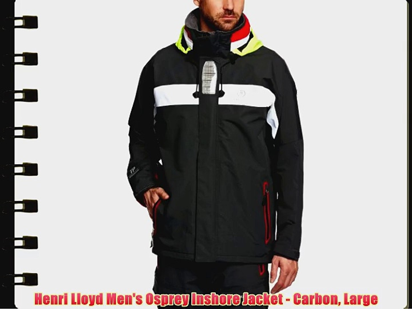 storlek 7 förboka toppmode Henri Lloyd Men's Osprey Inshore Jacket - Carbon Large - video ...