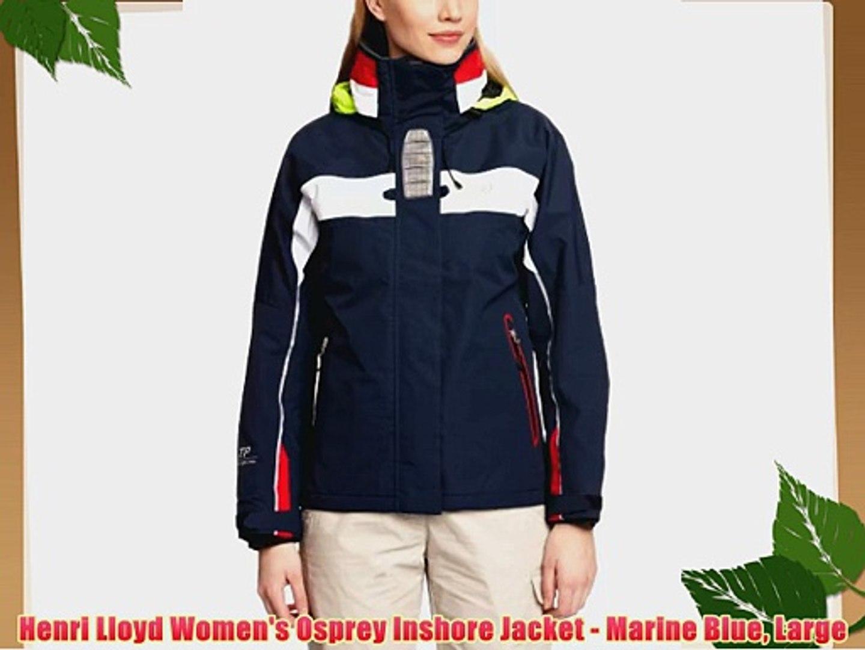 beb07146c Henri Lloyd Women's Osprey Inshore Jacket - Marine Blue Large