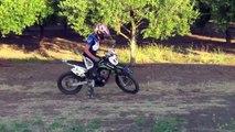 KLX 140L Wheelies