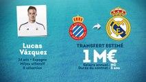 Officiel : Lucas Vazquez signe au Real Madrid !