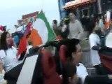 TIA's parade on St Patrick's day Bray, Ireland - near the end
