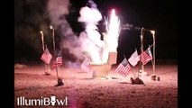 Fireworks Toilet Explosion to celebrate 4th of July! Crazy Americans...