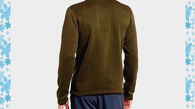 Marmot Men's Drop Line 1/2 Zip Long Sleeve Shirt - Dark Moss X-Large