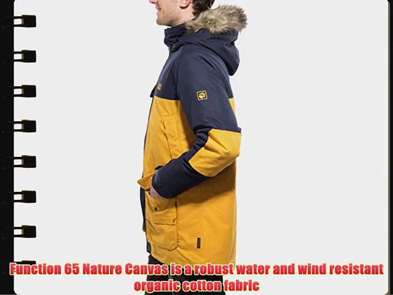 Jack Wolfskin Toronto duvet jacket Gentlemen Parka yellow Size L 2014
