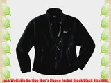 Jack Wolfskin Vertigo Men's Fleece Jacket Black black Size:XXXL