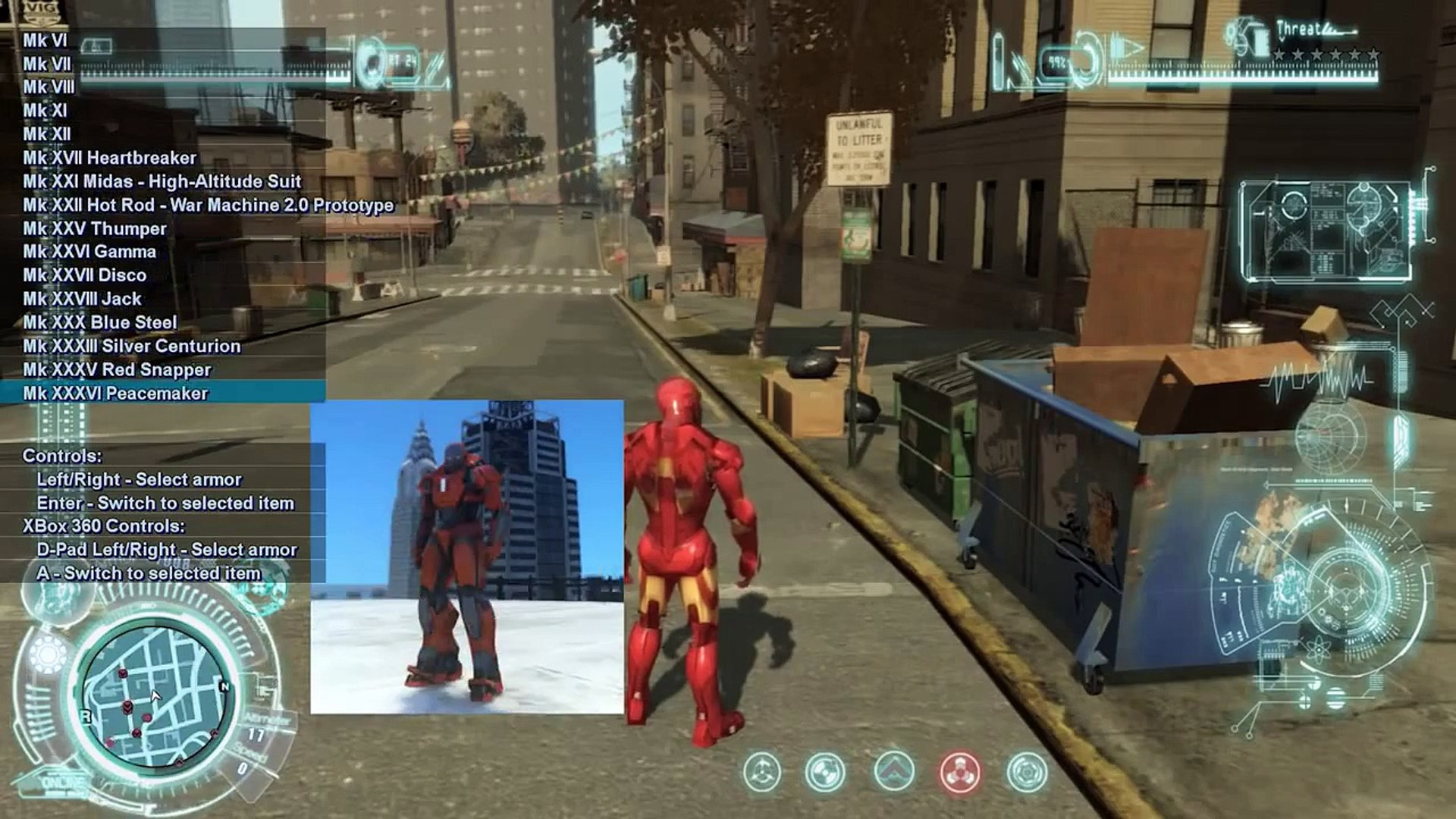 GTA IV Gameplay   Let's Play - I'M IRON MAN! FLIEGEN in GTA IV