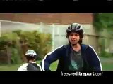 Free Credit Report Commercial-The Bike