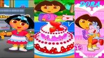Cartoon Games Compilation 4 for Kids and Babies - Dora the explorer