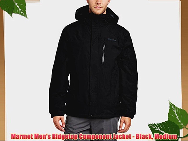Marmot Men S Ridgetop Component Jacket Black Medium Video Dailymotion