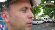 VIDEO. Poitiers : mesures spéciales anti-canicule pour le chantier de la Porte de Paris