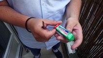 Le Tuto de la semaine : fabriquer un briquet avec une pile et un chewing-gum