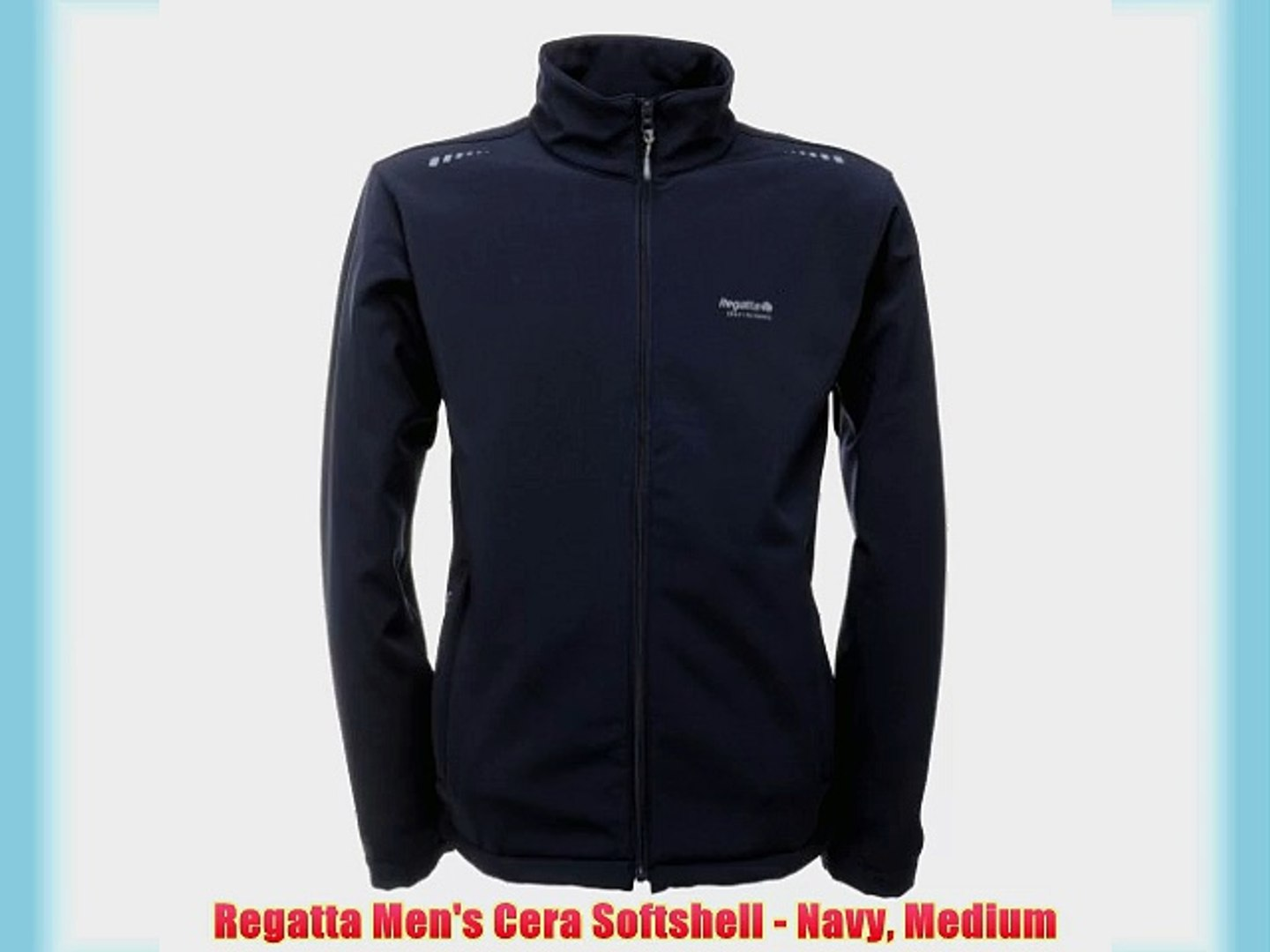 Regatta Mens Classic Softshell Jacket Water Repellent and Wind Resistant