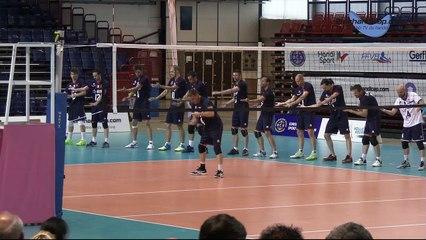 La Marseillaise par l'équipe de France de Volley Sourd - Euro Volley Sourd