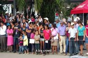 Municipal inauguration 2014, Copan Ruinas, Honduras