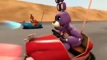 SFM FNAF Bonnie Learns to Drive! Five Nights at Freddy s