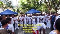 Roda de Capoeira na Rua - Abadá Capoeira Petrópolis, RJ
