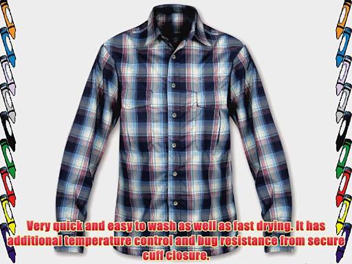 P?ramo Men's Katmai Light Trek/Travel Shirt – Oxford Check Small