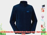 Jack Wolfskin Men's Midnight Moon Fleece Jacket - Night Blue XX-Large