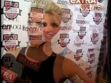 Jessica Simpson Blonde pulls funny faces and makes odd comments during bizarre Extra interview