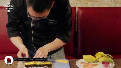 California rolls saumon et mangue - Recette japonaise