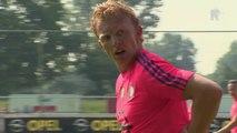 02-07-2015 Dirk Kuijt terug bij Feyenoord