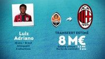 Officiel : Luiz Adriano signe au Milan AC !