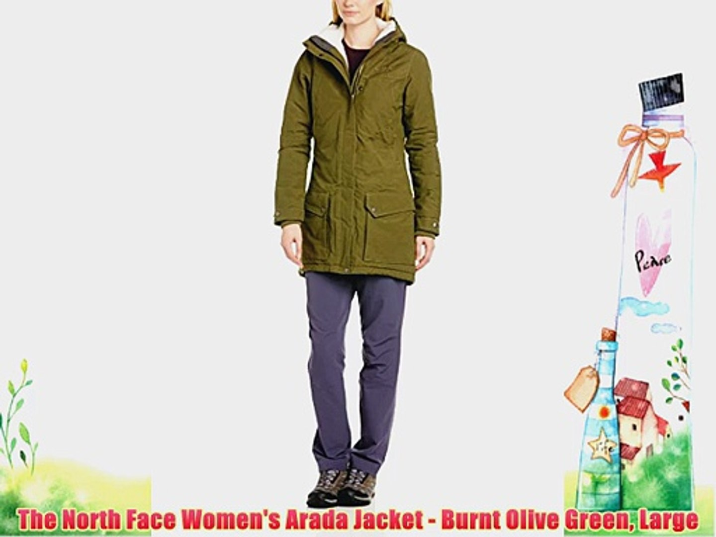 818492f38 The North Face Women's Arada Jacket - Burnt Olive Green Large