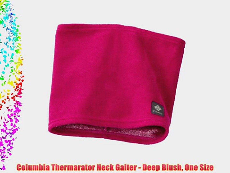 48615156d Columbia Thermarator Neck Gaiter - Deep Blush One Size