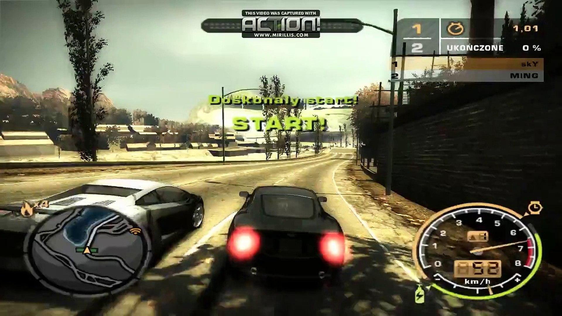 Nfs Most Wanted Aston Martin Db9 Vs Ming Blacklist 6 Video Dailymotion