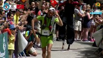 80K- Plateau 10 - Arrivée 2ème & 3ème Homme - Chamonix Marathon du Mont-Blanc 2015