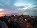 la pointe pescade des hauteurs de l'Avenue Mabrouk Belahcene ( Splendide coucher de soleil )