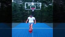 Gareth Bale Shows Off Impressive Skills with Basket Ball and Nets No-Look Basket