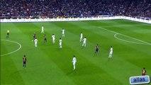 Busquets fake pass vs Real Madrid