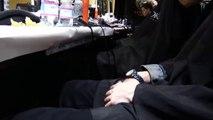"""VERSACE"" Backstage Autumn Winter 2014 2015 Milan Menswear MFW by Fashion Channel"