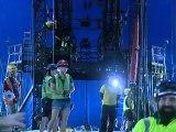 (Galería)Circo del Sol afina los últimos detalles para espectáculo en el país