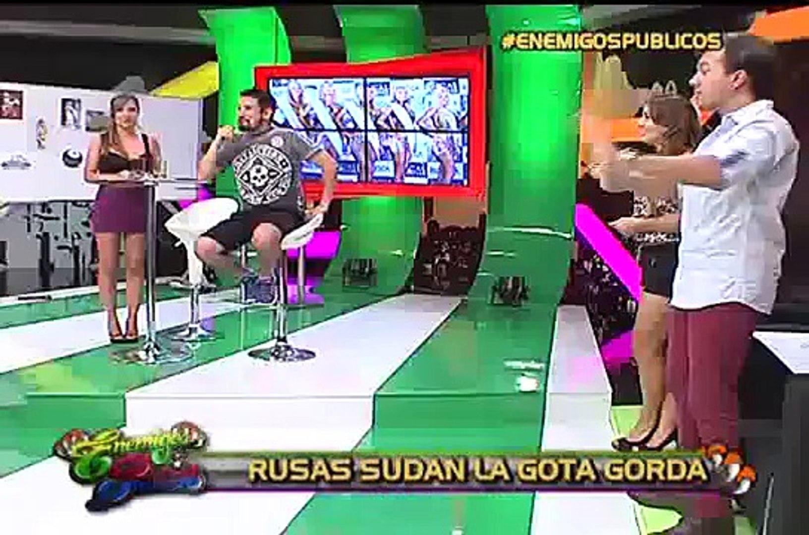 Enemigos Públicos: un día de gimnasio con las 'Chicas Doradas'