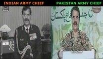 Indian Army Chief vs Pakistani Army Chief